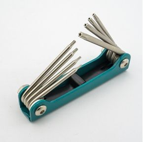 รูปภาพของ 5087TF 8PC STAR TAMPER KEY(FOLDING)