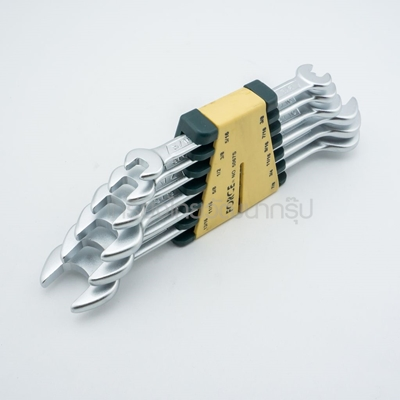 5067S 6PC DOUBLE OPEN END WRENCH SET